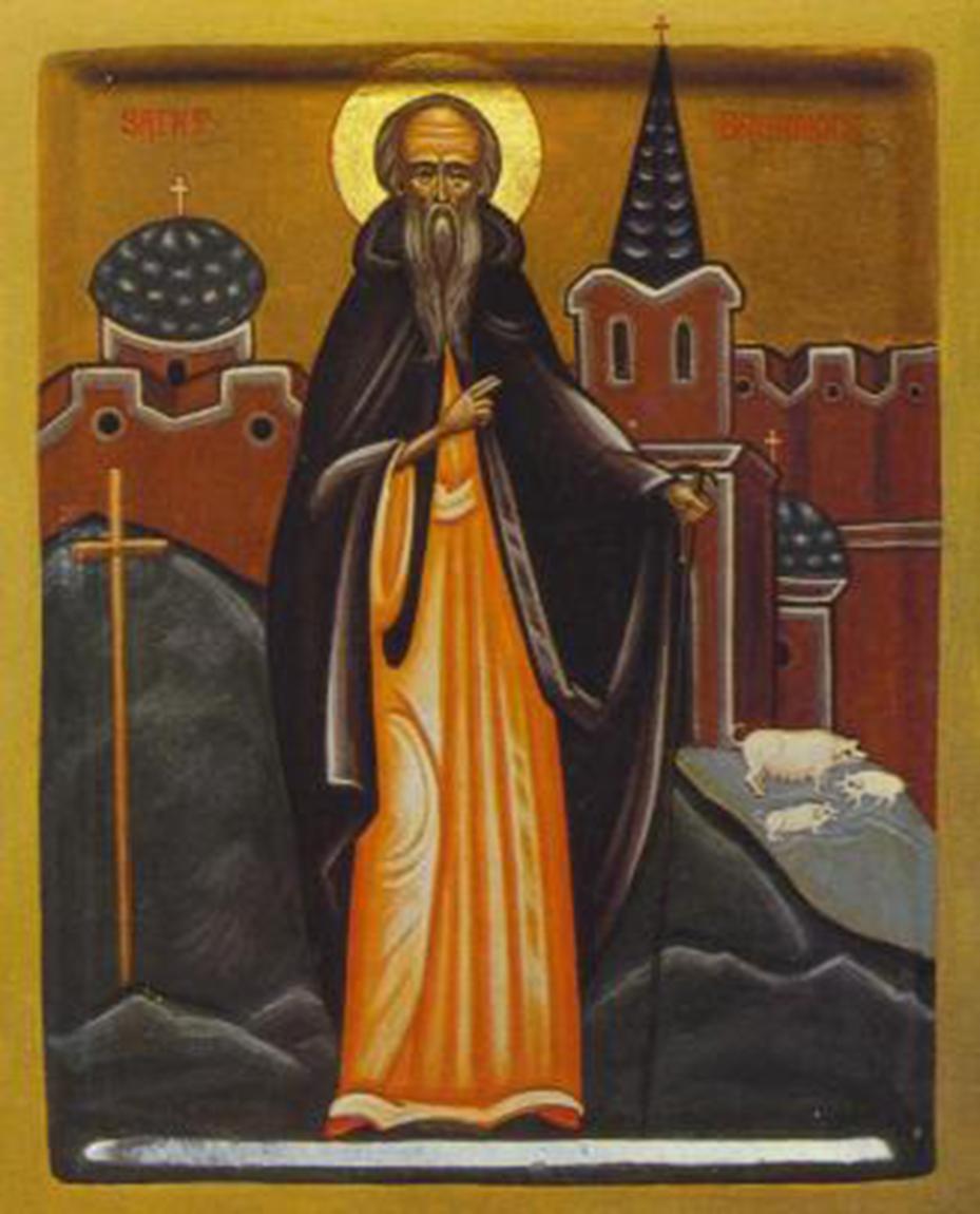 Icon of St. Brannoc