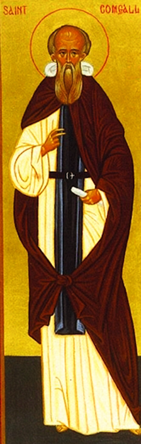 Icon of St. Comgall