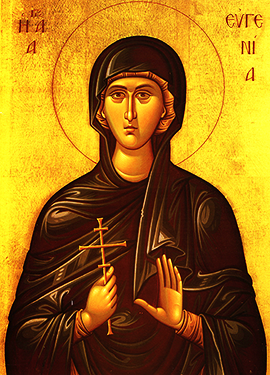 Icon of St. Eugenia of Rome