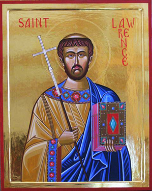 Icon of St. Laurence of Canterbury