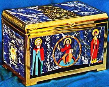Reliquary of Martyrs, Sisinius, Martyrius, and Alexander