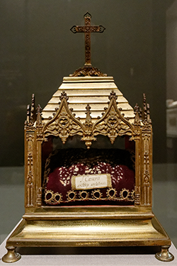 Reliquary of St. Caesarius, at the Church of St. Trophime, Arles